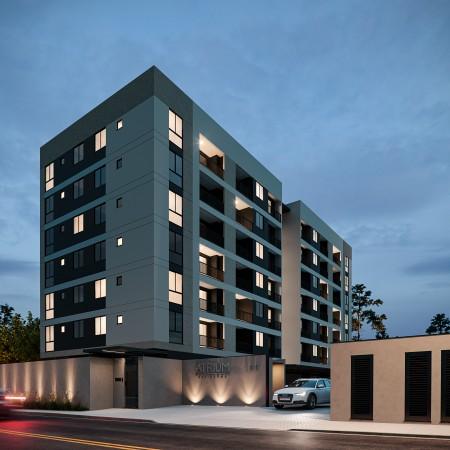 Solide_Atrium Residence_EF_Fachada Noite